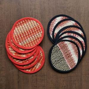 Madur Kathi Round Coaster