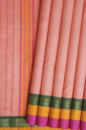 Narayanpet Cotton Checks Saree (1)