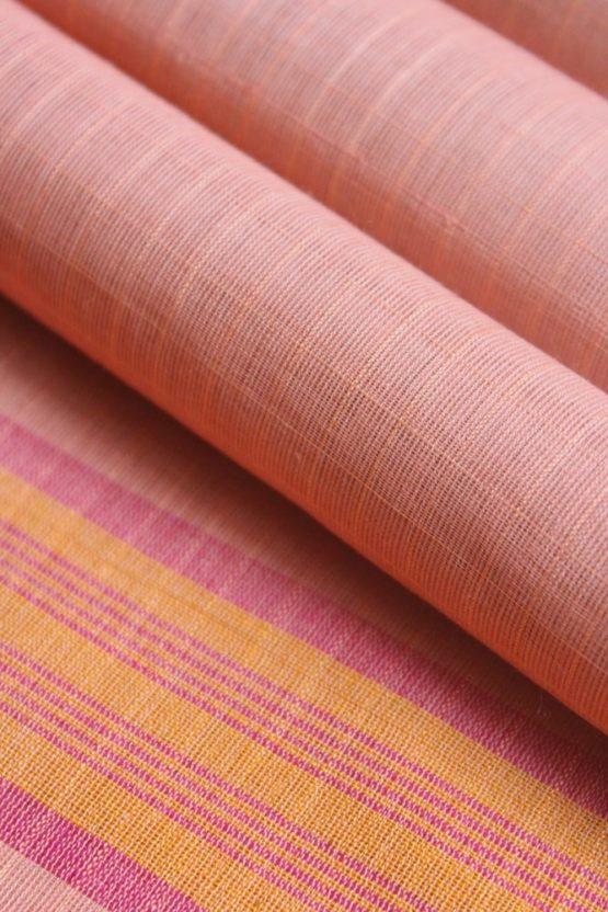 Narayanpet Cotton Checks Saree (5)