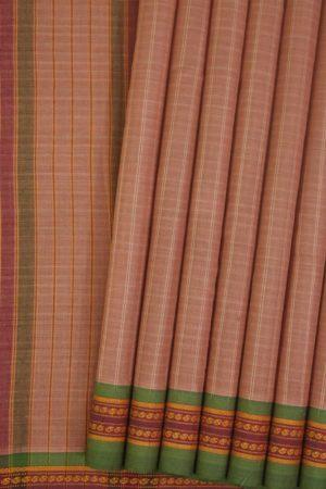 Narayanpet Cotton Thread Border Saree Online (5)