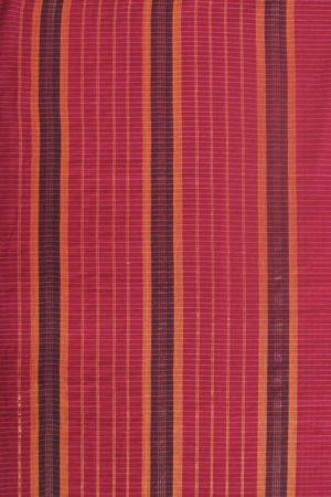 Narayanpet Pink Cotton Saree (2)