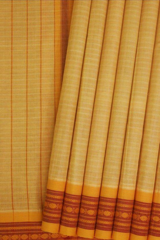 Narayanpet Thread Border Saree (1)