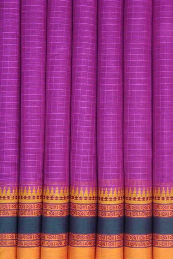 Narayanpet thread Border Saree (4)
