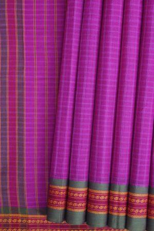 Pink COtton Saree Online (1)