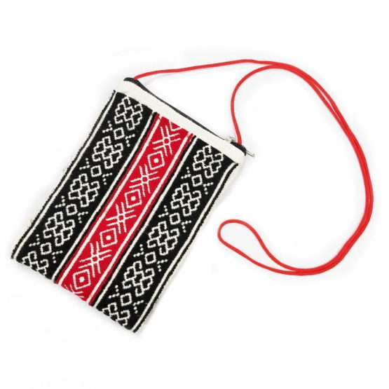 toda embroidery pouch