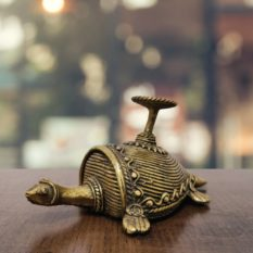 Bastar Dhokra Turtle Art 1
