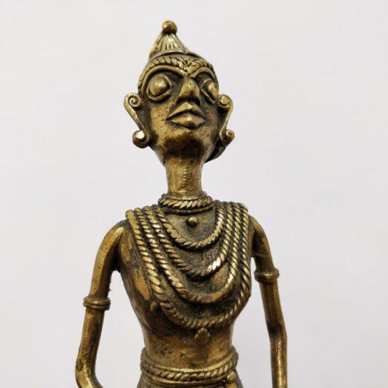 Dhokra Art Tribal Fisher Man 3