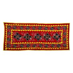 Pipli Applique Work Floral Design Wall Hanging 1
