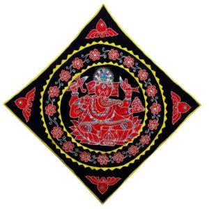 Pipli Applique Work Ganesha Black 1