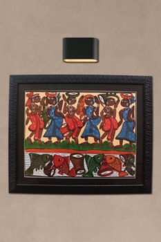 Bengal Pattachitra - Dance Dual Side B1