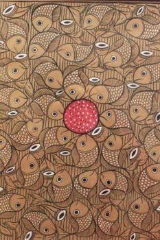 Bengal Pattachitra - Fish Ras Big B2