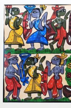 Bengal Pattachitra - Tribal Dance Dual Side B2