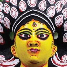 Black Devi Chhau Mask (1.5Ft) - Gi Tagged (2)