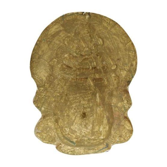 Black-Green Kathakali Chau Mask (1.5Ft) 4