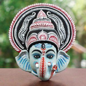 Ganesha Chhau Mask Online (1.5Ft) (1)