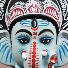 Ganesha Chhau Mask Online (1.5Ft) (2)