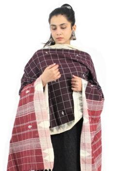 Kotpad Handloom Pure Cotton Dupatta 2B