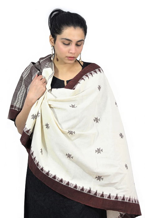 Kotpad Handloom Pure Cotton Dupatta 5C