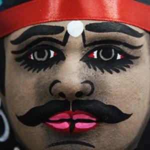 Tribe Couple Chhau Mask Online (2)