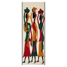 GiTAGGED Pipli Applique Tribal Women Wall Hanging 1