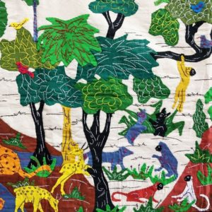 GiTAGGED Pipli Applique Wildlife Wall Hanging (5x1.6) feet 2