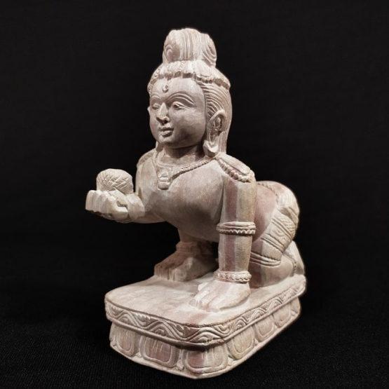 Konark Stone Carving Baby Krishna A1