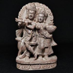 Radha-Krishna stone idols online 1