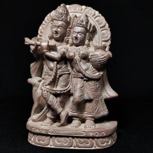 Radha-Krishna stone idols online 2