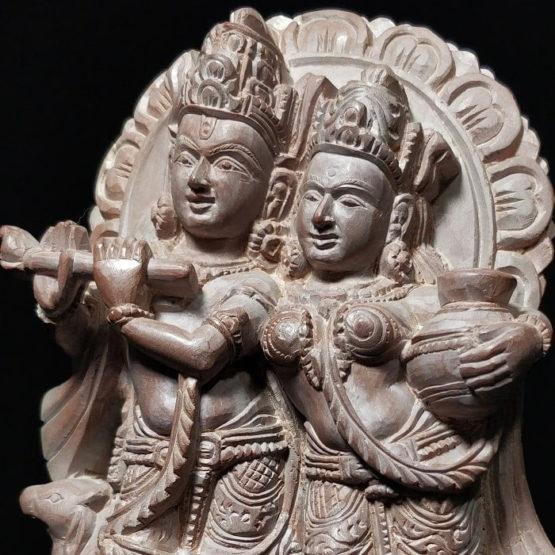 Radha-Krishna stone idols online 4