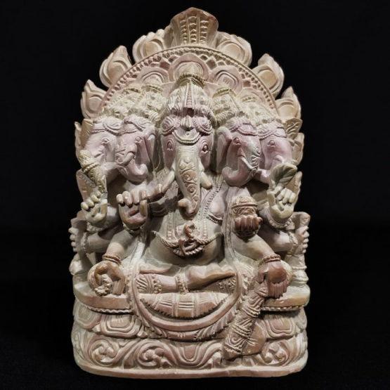 panchmukhi stone ganesh statue 1