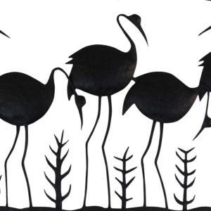 Bastar iron Swan Photo Frame (2)
