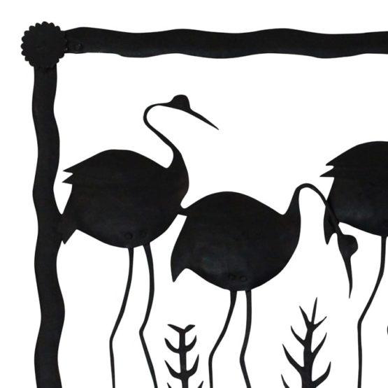 Bastar iron Swan Photo Frame (3)