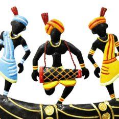 GiTAGGED Bastar Iron Craft- Horn Tribal Dance 2
