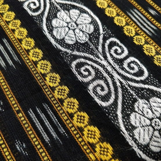 GiTAGGED Orissa Ikat Black Floral Salwar Suit Set 2