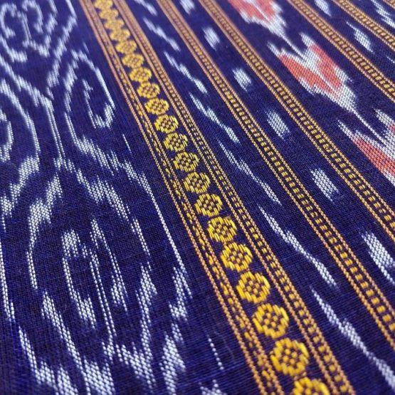 GiTAGGED Orissa Ikat Purple Floral Salwar Suit Set 3