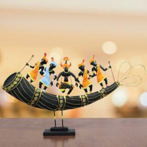 Horn Tribal Dance Bastar Craft (1)