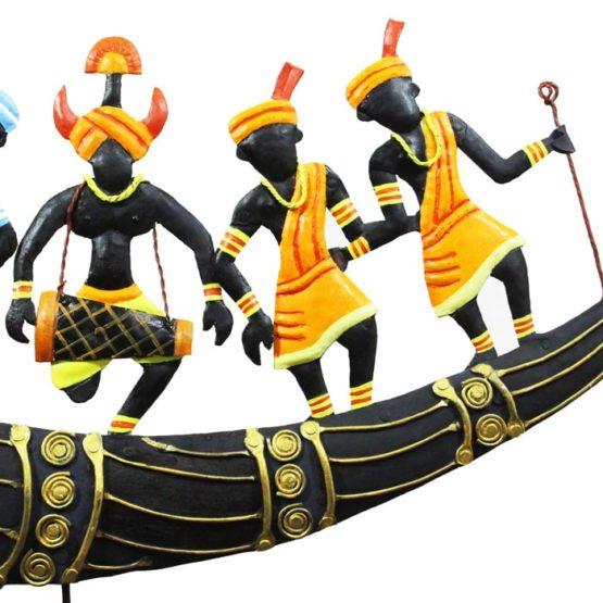 Horn Tribal Dance Bastar Craft (3)