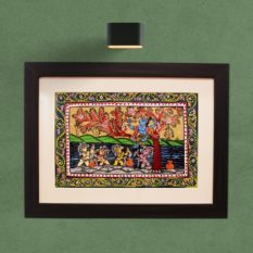 GiTAGGED Orissa Pattachitra – Bala Krishna with Gopa's 7A