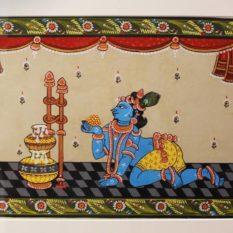 GiTAGGED-Orissa-Pattachitra-Baby-Krishna-3B