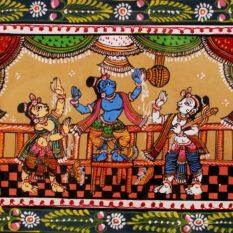 GiTAGGED Orissa Pattachitra Bala Krishna Stealing Butter 24B