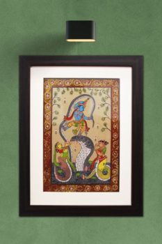 GiTAGGED Orissa Pattachitra Dancing Krishna on Kalinga 1