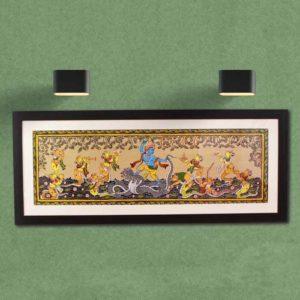 GiTAGGED Orissa Pattachitra - Krishna Kalinga Narthana 30A