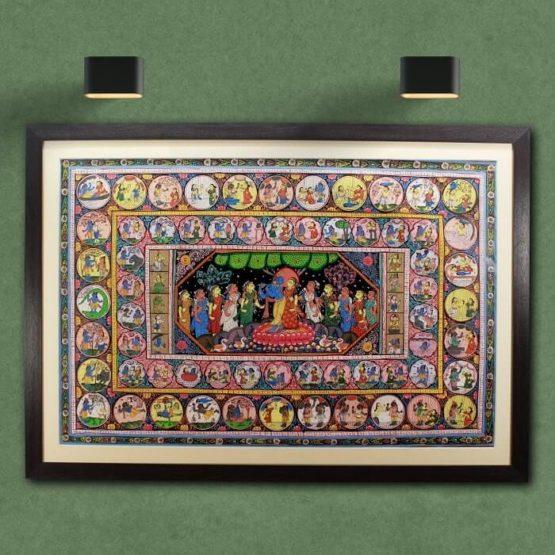 GiTAGGED Orissa Pattachitra Krishna Life Story 1