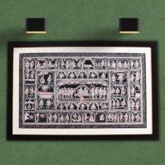 GiTAGGED Orissa Pattachitra - Mahabali Hanuman Katha 1