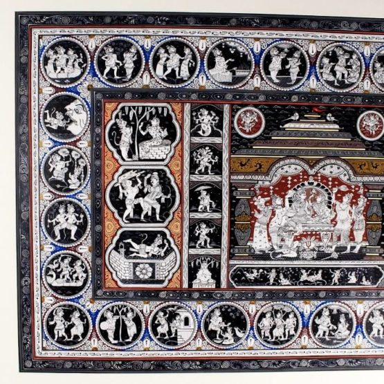 GiTAGGED Orissa Pattachitra Mahabali Hanuman Katha 16B