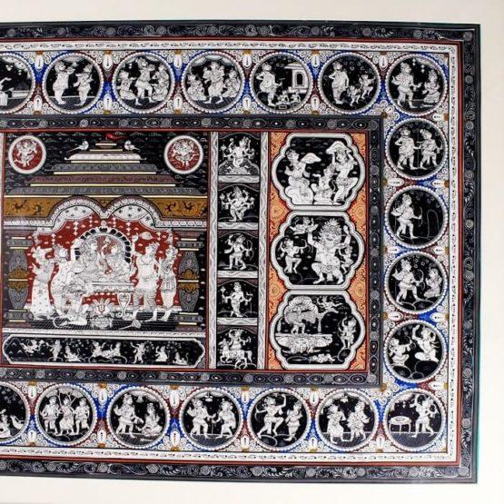 GiTAGGED Orissa Pattachitra Mahabali Hanuman Katha 16C