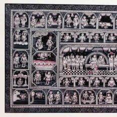 GiTAGGED Orissa Pattachitra - Mahabali Hanuman Katha 2