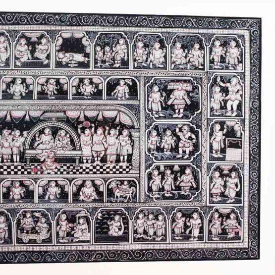 GiTAGGED Orissa Pattachitra - Mahabali Hanuman Katha 4