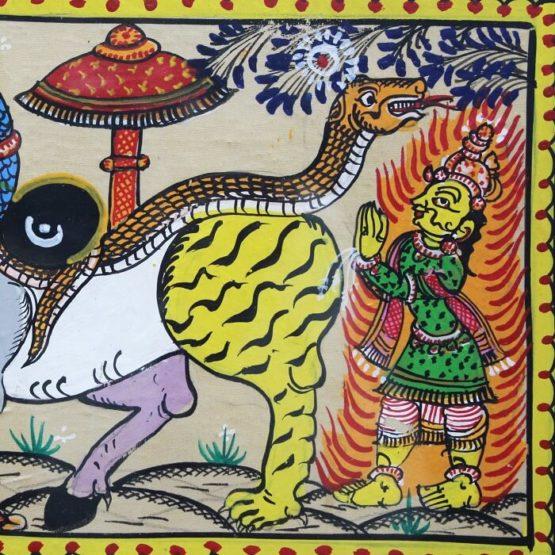 GiTAGGED Orissa Pattachitra Nabagunjar 14C