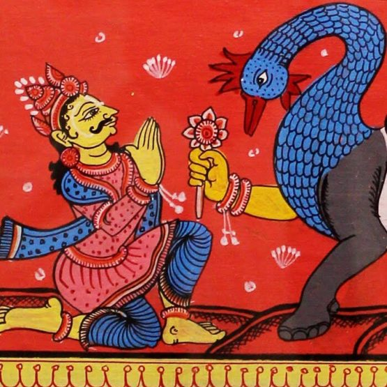 GiTAGGED Orissa Pattachitra Nabagunjar 29C